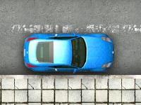Флеш игра Учимся парковаться