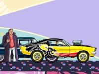 Флеш игра Угон дорогих автомобилей