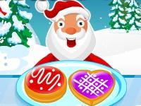 Флеш игра Угощение рождественскими печеньками