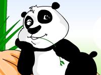 Флеш игра Ухаживай за гигантской пандой
