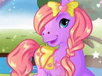 Флеш игра Уход за милым пони