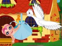 Флеш игра Уход за новорожденным