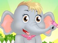 Флеш игра Уход за слоненком