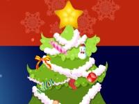 Флеш игра Укрась Новогоднюю елку
