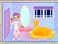 Флеш игра Укрась домик для куклы