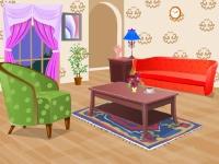Флеш игра Укрась гостиную комнату
