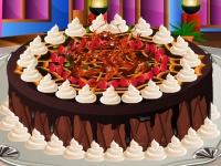 Флеш игра Укрась карамельный торт