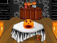 Флеш игра Укрась комнату на Хэллоуин