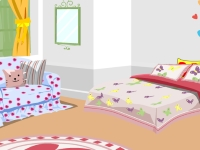 Флеш игра Укрась мою симпатичную комнату