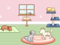 Флеш игра Укрась питомник для животных