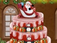 Флеш игра Укрась рождественский пирог