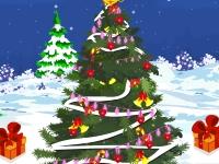 Флеш игра Укрась рождественскую елку