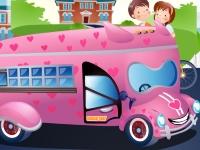 Флеш игра Укрась школьный автобус