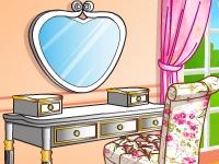 Флеш игра Укрась туалетный столик