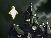 Флеш игра Укрась замок вампира