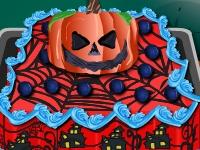 Флеш игра Украшаем торт для Хэллоуина