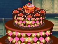 Флеш игра Украшаем торт на Хэллоуин