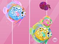 Флеш игра Украшение аквариума с рыбками