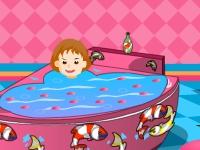Флеш игра Украшение детской ванной комнаты