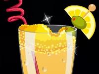 Флеш игра Украшение коктейля