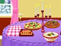 Флеш игра Украшение обеденного стола