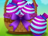 Флеш игра Украшение пасхальных яиц