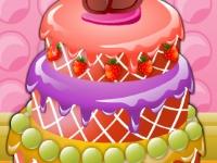 Флеш игра Украшение торта с Эмили