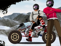 Флеш игра Улетная гонка на квадроцикле 5