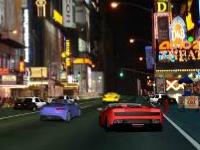 Флеш игра Уличная гонка: Ночной город