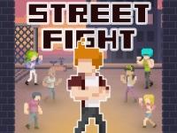 Флеш игра Уличные драки с бандитами