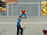 Флеш игра Уличный футбол