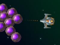 Флеш игра Уничтожь астероид