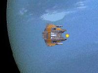Флеш игра Уничтожь астероиды