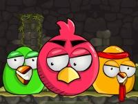Флеш игра Уничтожь гнездо злых птиц