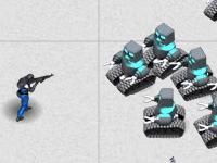 Флеш игра Уничтожь восставших роботов