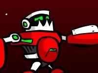Флеш игра Уничтожь злых роботов