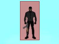 Флеш игра Уничтожение террористов