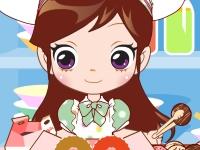 Флеш игра Упакуй пончики Сью