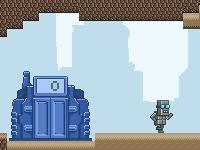 Флеш игра Управление роботом