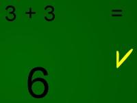 Флеш игра Упражняйся в математике: Сложение