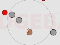 Флеш игра Увернись от мяча