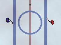 Флеш игра Увлекательный хоккей