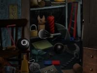 Флеш игра В доме с привидениями