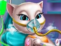 Флеш игра Вакцинация Анжелы
