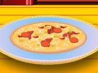 Флеш игра Вечеринка пиццы