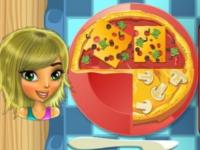 Флеш игра Вечеринка с большим количеством пиццы