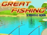 Флеш игра Великолепная рыбалка
