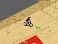 Флеш игра Велосипедный мотокросс