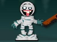 Флеш игра Верни голову мумии