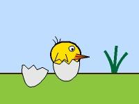 Флеш игра Верни птичку в гнездо
